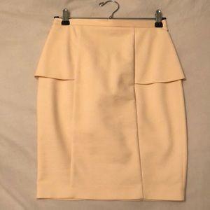 Zara Pink Peplum Skirt size XS